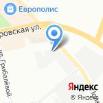 Астропластика на карте Санкт-Петербурга