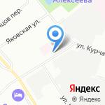 Химчистка-прачечная на карте Санкт-Петербурга