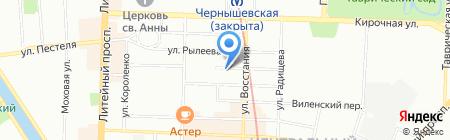 Оптик Плюс СПб на карте Санкт-Петербурга
