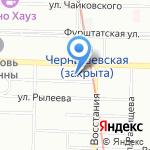 Л. К. М. на карте Санкт-Петербурга