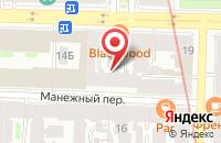 Схема проезда до компании Хром в Санкт-Петербурге