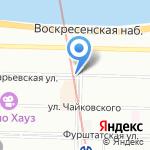 IQ Laboratory Of Coffee на карте Санкт-Петербурга
