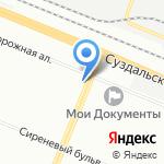 Арбат на карте Санкт-Петербурга