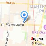 Синоптика на карте Санкт-Петербурга