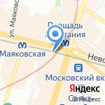 KNRU на карте Санкт-Петербурга