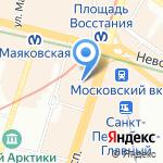 Центр экспертно-технического сопровождения на карте Санкт-Петербурга