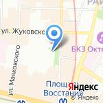 Гимназия №209 на карте Санкт-Петербурга