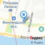 Межведомственная комиссия по вопросам перепланирования квартир на карте Санкт-Петербурга