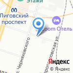 Энергосервис Спб на карте Санкт-Петербурга