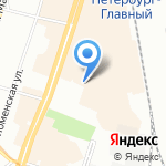 CaratPlus на карте Санкт-Петербурга