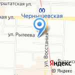 Генеральное консульство Республики Болгария на карте Санкт-Петербурга