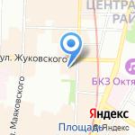 Дункан-Трэвэл на карте Санкт-Петербурга