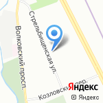 Первичная профсоюзная организация жилищного хозяйства Фрунзенского района на карте Санкт-Петербурга