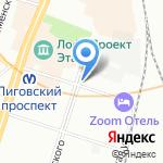 Dance Sound на карте Санкт-Петербурга