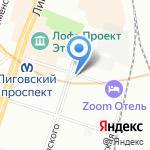 Tutti-Frutti на карте Санкт-Петербурга