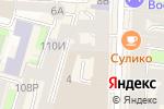 Схема проезда до компании Нордик в Санкт-Петербурге
