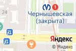 Схема проезда до компании Андалузия в Санкт-Петербурге