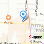 Центр трудоустройства и занятости на карте Санкт-Петербурга
