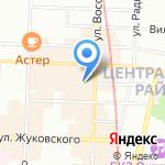 Позитивная YOGA на карте Санкт-Петербурга