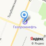 Зенит на карте Санкт-Петербурга