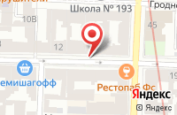 Схема проезда до компании Универсал-Текстиль в Санкт-Петербурге