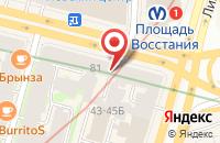Схема проезда до компании Доктор Столетов в Санкт-Петербурге