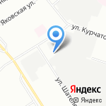 Карбакс на карте Санкт-Петербурга
