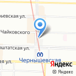 Джентльмен на карте Санкт-Петербурга