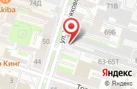 Схема проезда до компании Аис-Групп в Санкт-Петербурге