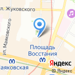 Нотариусы Ажойчик А.В. на карте Санкт-Петербурга