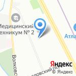Марвел на карте Санкт-Петербурга