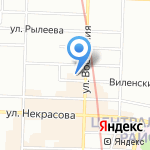 Юлана на карте Санкт-Петербурга