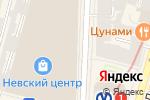 Схема проезда до компании Tommy Hilfiger в Санкт-Петербурге