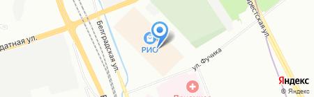 Стекло Росвуздизайн на карте Санкт-Петербурга