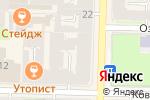 Схема проезда до компании ATELIER-MUAR в Санкт-Петербурге