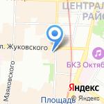 Гаврики на карте Санкт-Петербурга