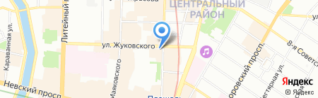 Аватара на карте Санкт-Петербурга