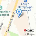 DANZZA на карте Санкт-Петербурга