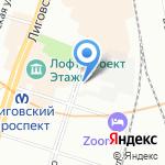 Вам на дом на карте Санкт-Петербурга