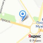 ЛИВ на карте Санкт-Петербурга