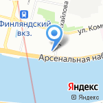 Транснефть-Балтика на карте Санкт-Петербурга