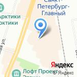 Маленький Принц на карте Санкт-Петербурга