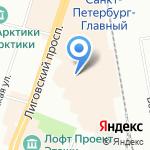 Машина Времени на карте Санкт-Петербурга