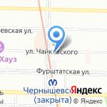 Смешной театрик на карте Санкт-Петербурга