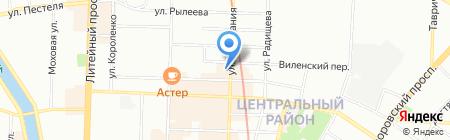 Времена года на карте Санкт-Петербурга
