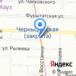Гортензия на карте Санкт-Петербурга