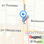 Синема на карте Санкт-Петербурга