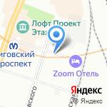 Пилот Навигатор СПб на карте Санкт-Петербурга