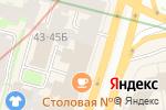 Схема проезда до компании Деметра-М в Санкт-Петербурге