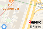Схема проезда до компании LuxRent в Санкт-Петербурге
